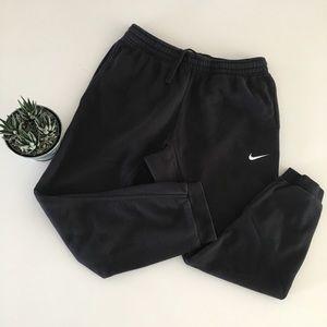 Nike   Men's Black Jogger Sweats